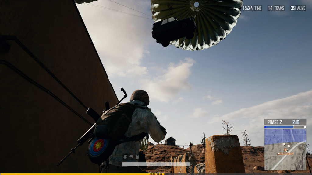 PUBG-armored-car-dropping-with-parachutes-from-sky-01